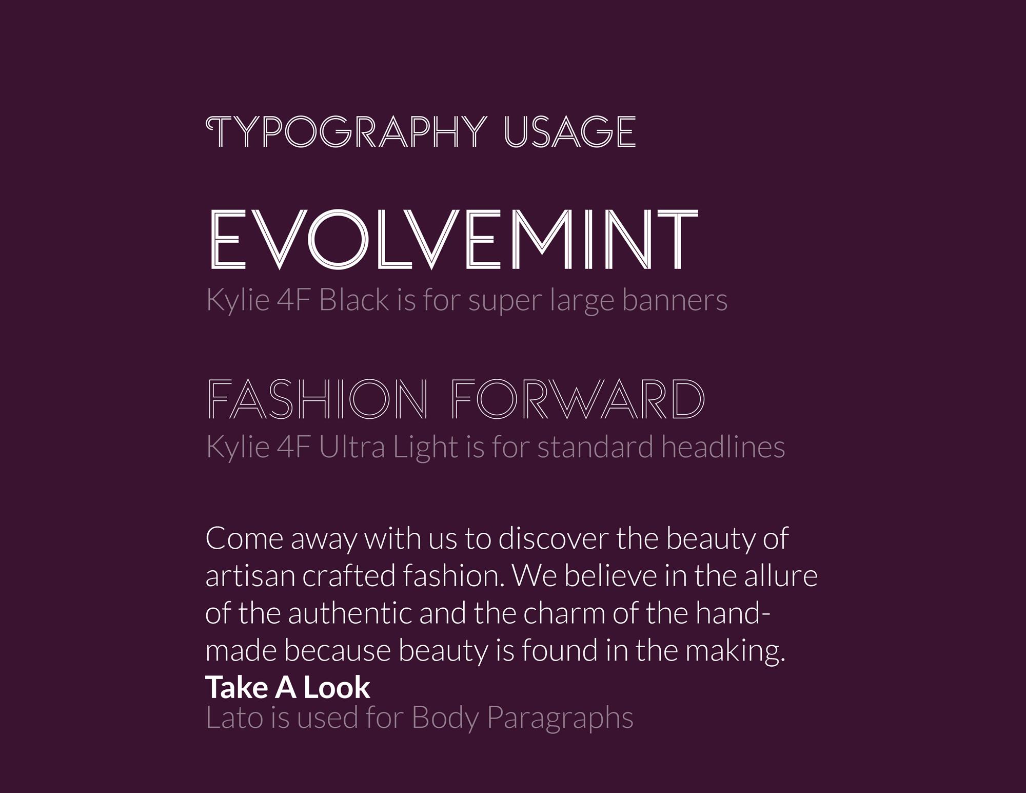 evolvemint-type