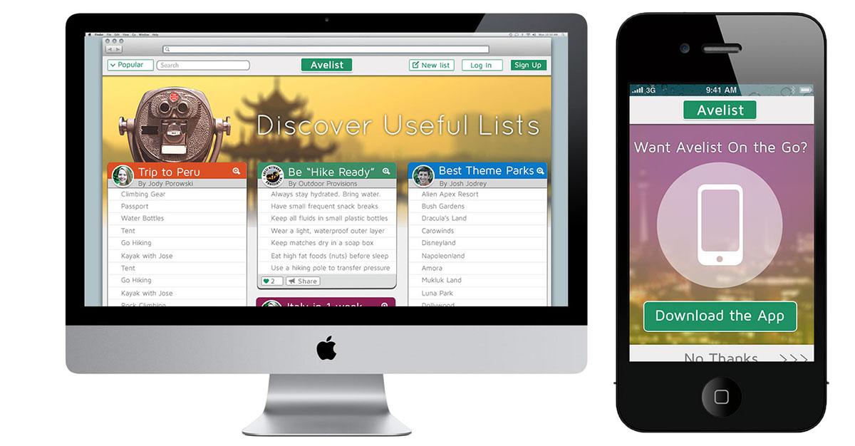 avelist_website_design