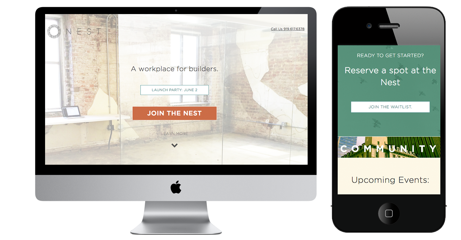 the-nest-raleigh-website-by-quillor